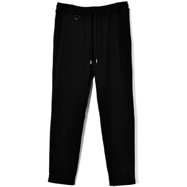 REFLECTOR PRINT SWEAT PANTS/BLACK