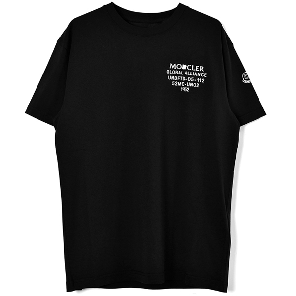 [MONCLER GENIUS 2 MONCLER 1952 × UNDEFEATED]T-SHIRT/BLACK