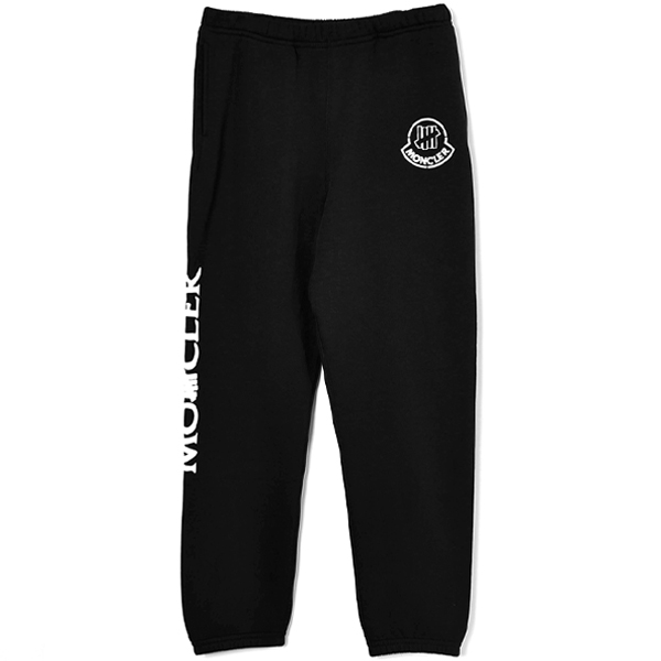 [MONCLER GENIUS 2 MONCLER 1952 × UNDEFEATED]SWEAT PANTS/BLACK