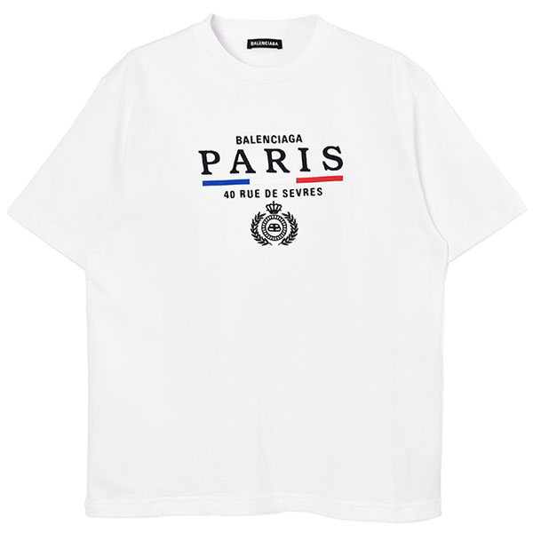 PARIS FLAG TEE/WHITE