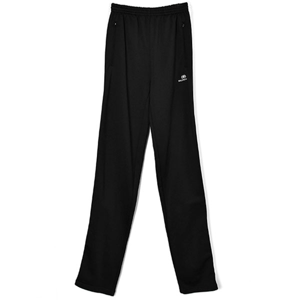 TRACK PANTS/BLACK/WHITE