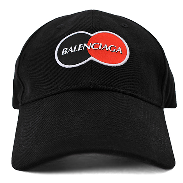 UNIFORM LOGO CAP/BLACK