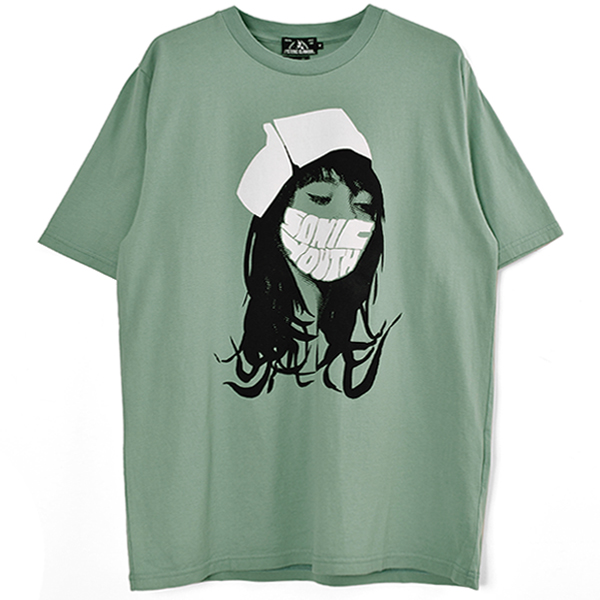 SONIC YOUTH/SONIC NURSE Tシャツ/GREEN