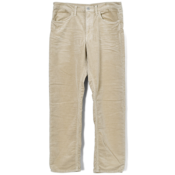 FAKE CORDS PANTS/BEIGE
