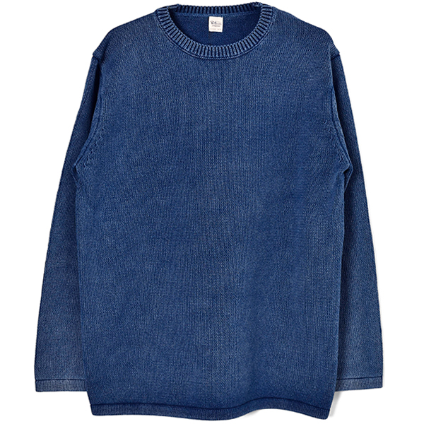 Denim Wash Crew/INDIGO