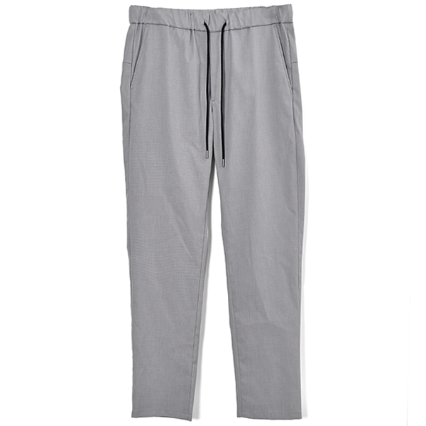easy light slacks/LIGHT GRAY