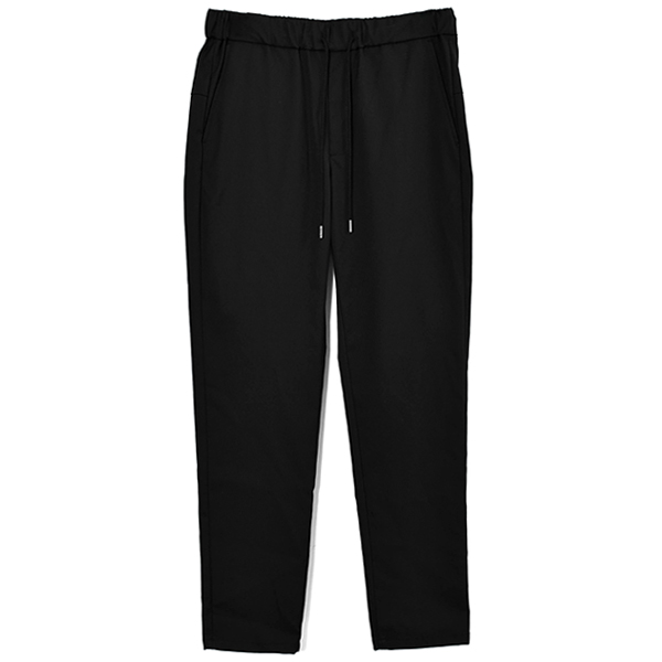 easy light slacks/BLACK