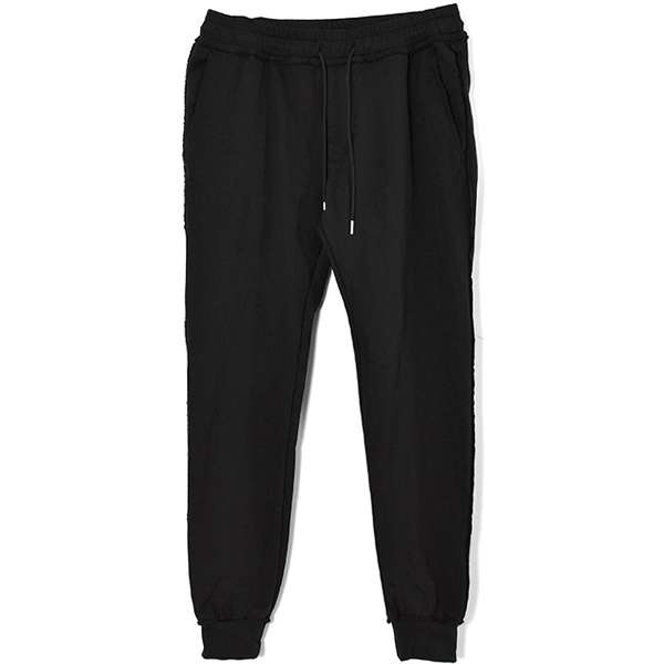 super stretch pants/BLACK