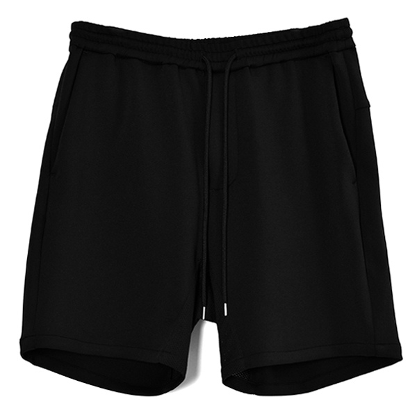 beach-side shorts/BLACK