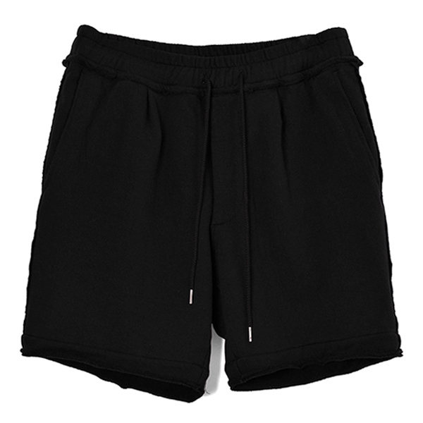 super stretch shorts/BLACK