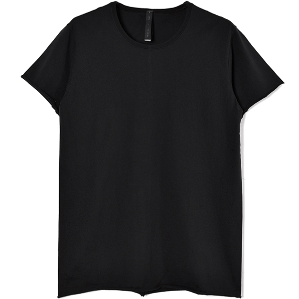 crew neck short sleeve standard/BLACK