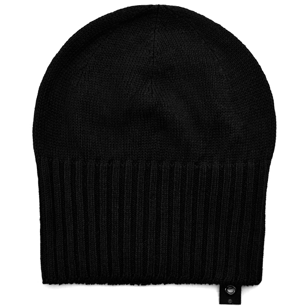 2-way beanie/BLACK