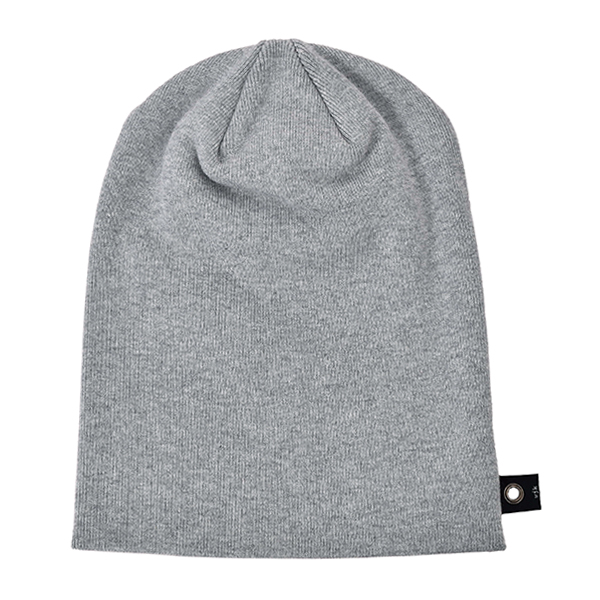 simple knit cap/GRAY