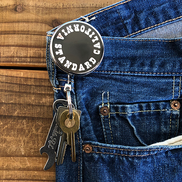 Button Works × SD Reel Key Holder Type 2/SILVER