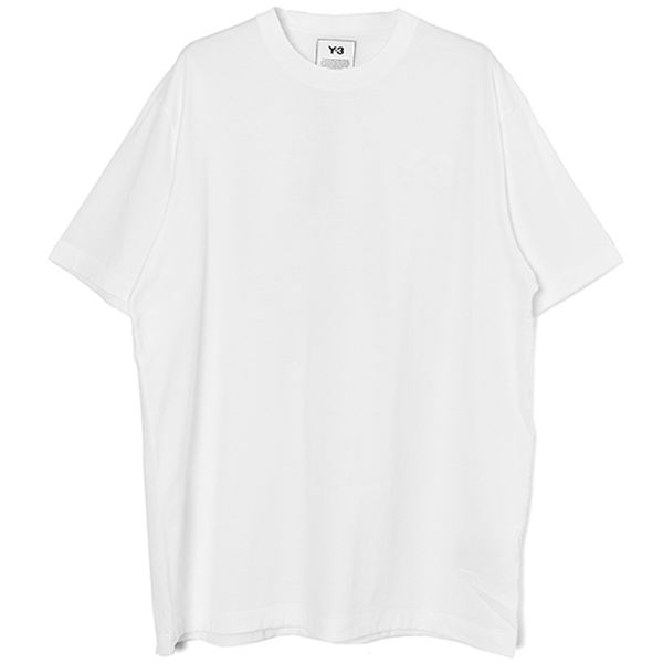 M CLASSIC CHEST LOGO SS TEE/WHITE