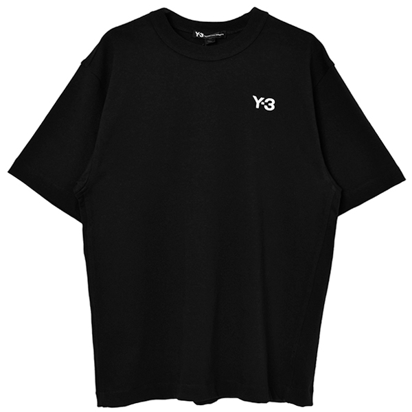 M HEAVY COMPACT JERSEY SS TEE/BLACK
