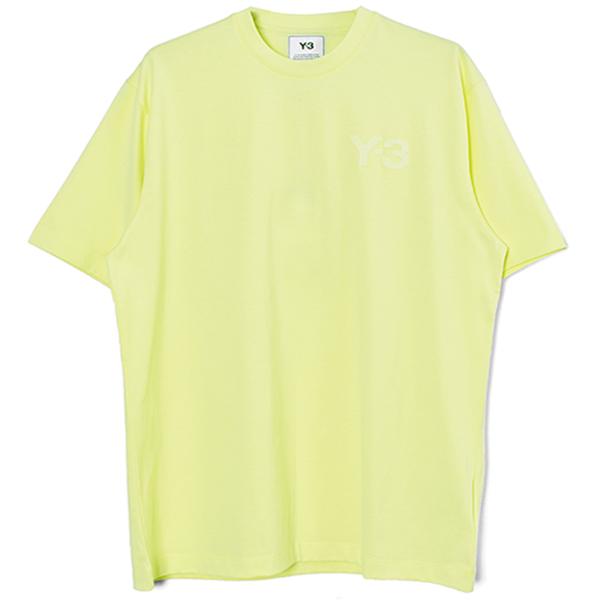 M CLASSIC CHEST LOGO SS TEE/YELLOW