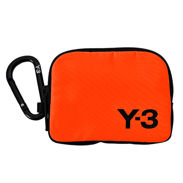Y-3 LOGO POUCH/ORANGE