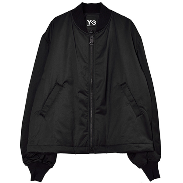 U CRFT GRAPHIC BOMBER/BLACK
