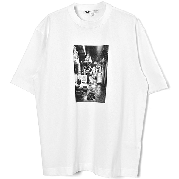 M ALLEY SS TEE/WHITE