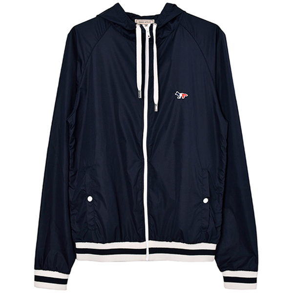 HOODED WINDBREAKER/NAVY