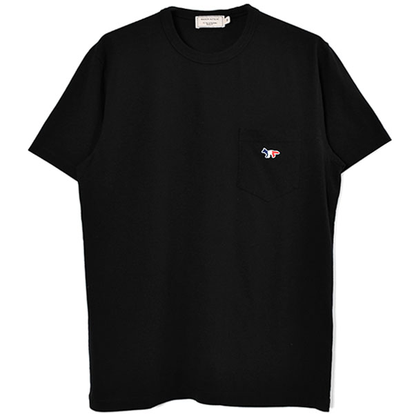 TEE-SHIRT TRICOLOR FOX PATCH/BLACK