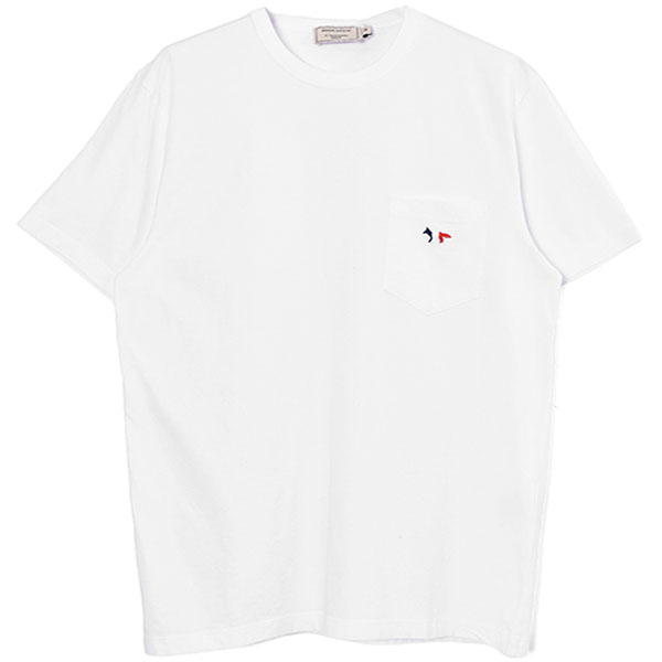 TEE-SHIRT TRICOLOR FOX PATCH/WHITE