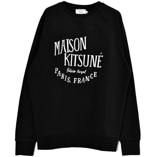 SWEATSHIRT PALAIS ROYAL/BLACK