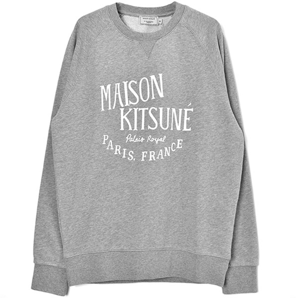 SWEATSHIRT PALAIS ROYAL/GRAY