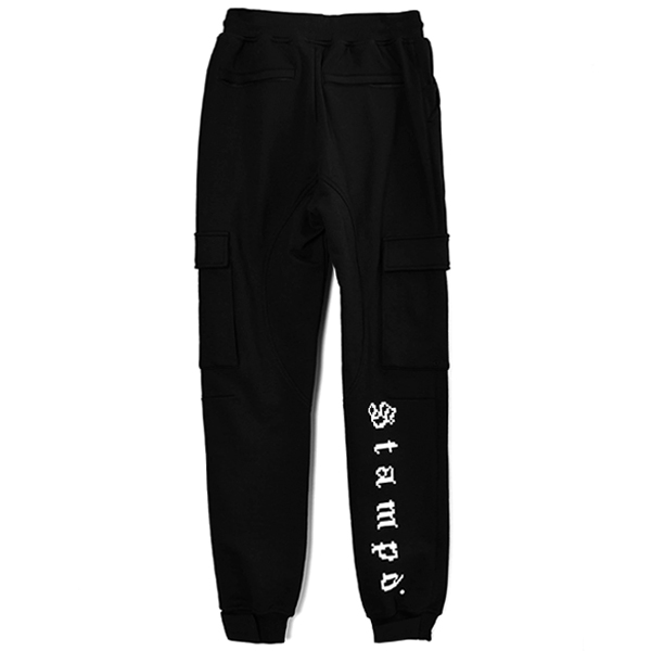 DIGITAL SWAET PANTS/BLACK