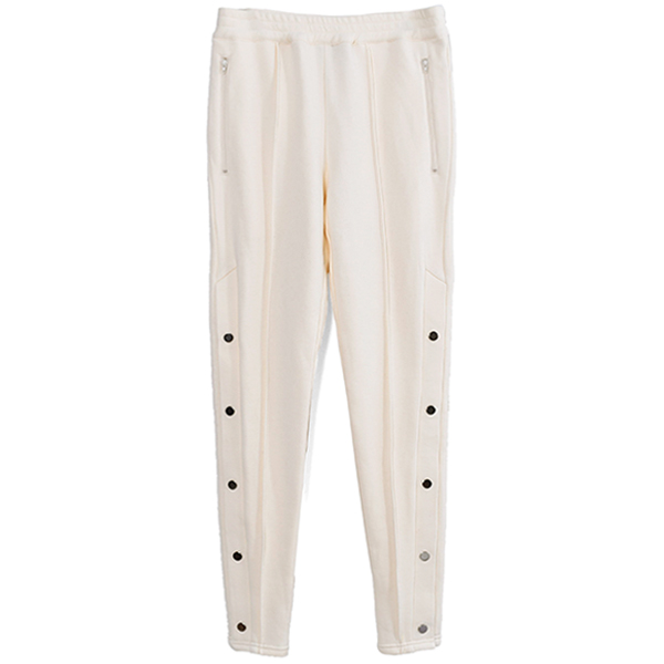SPORTS SWEAT PANTS/CREAM