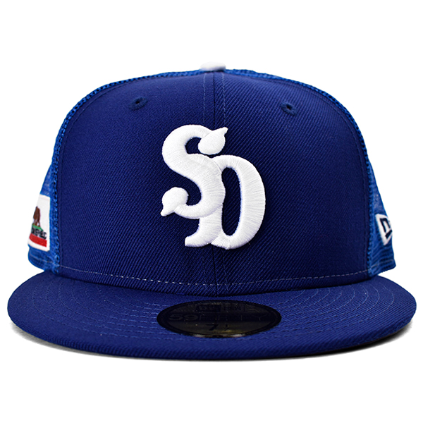 NEW ERA × SD 59 FIFTY Logo Mesh Cap/BLUE