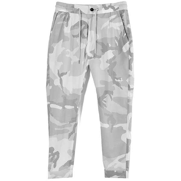 SWING EASY PANTS/WHITE CAMO