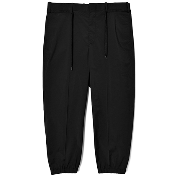 NYLON PANTS/BLACK