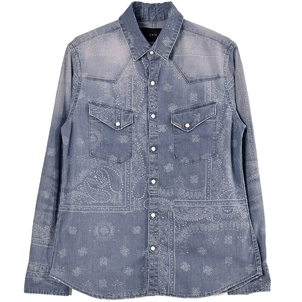 L-S WESTERN SHIRT/DENIM