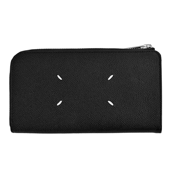 LONG LEATHER WALLET/BLACK