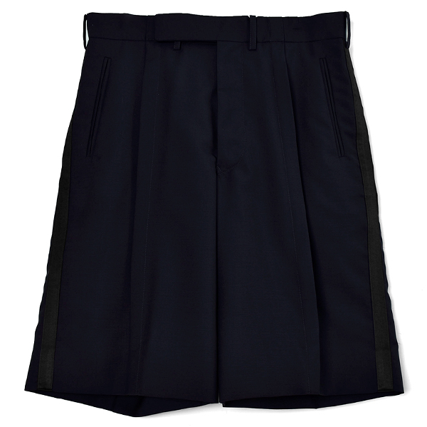 SIDE STRIPE SHORTS/DARK NAVY