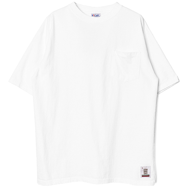 SD Heavyweight Pocket T/WHITE