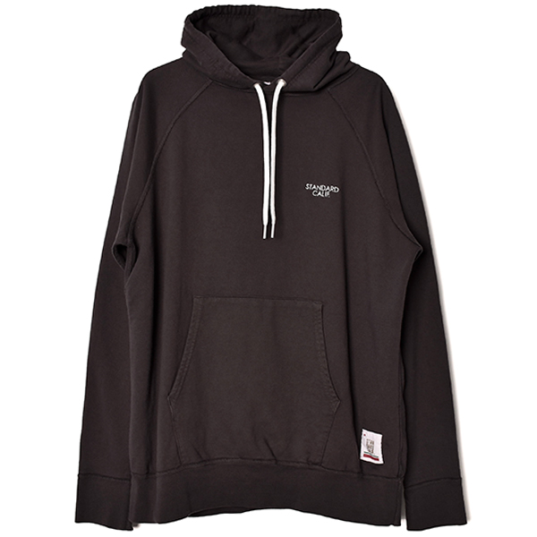 SD Pima Cotton Pullover Hood Sweat/CHARCOAL