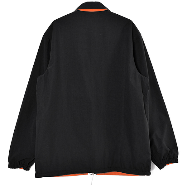 SD Reversible Coach Jacket/BLACK/ORANGE