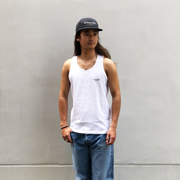 SD Small Logo Tank Top/WHITE