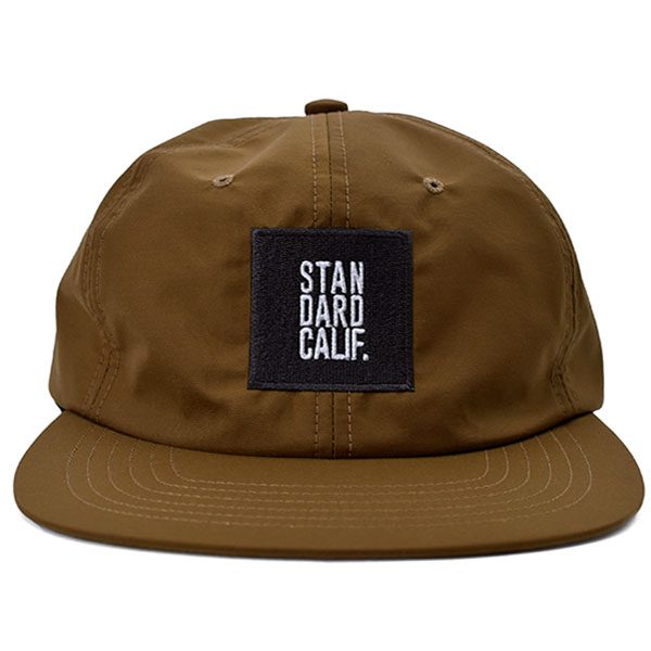 SD Three-Layer Box Logo Cap/BEIGE
