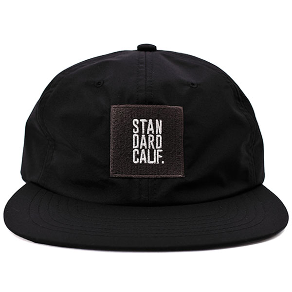 SD Three-Layer Box Logo Cap/BLACK