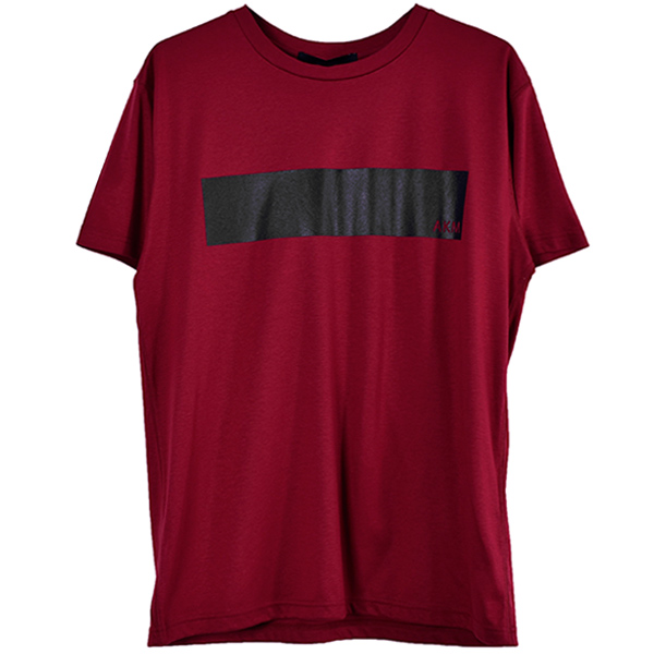 LINE TEE/RED