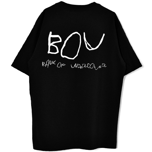 BANK OF UNDERCOVER TEE/BLACK