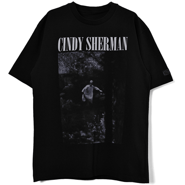 Cindyprint TEE #38[CindySherman]/BLACK