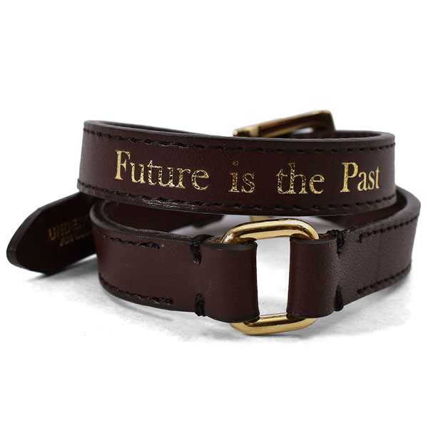 LEATHER BRACELET/D.BROWN