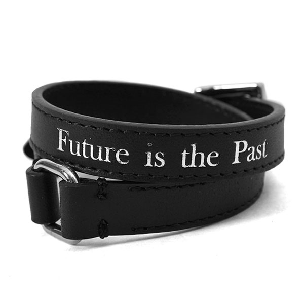 LEATHER BRACELET/BLACK