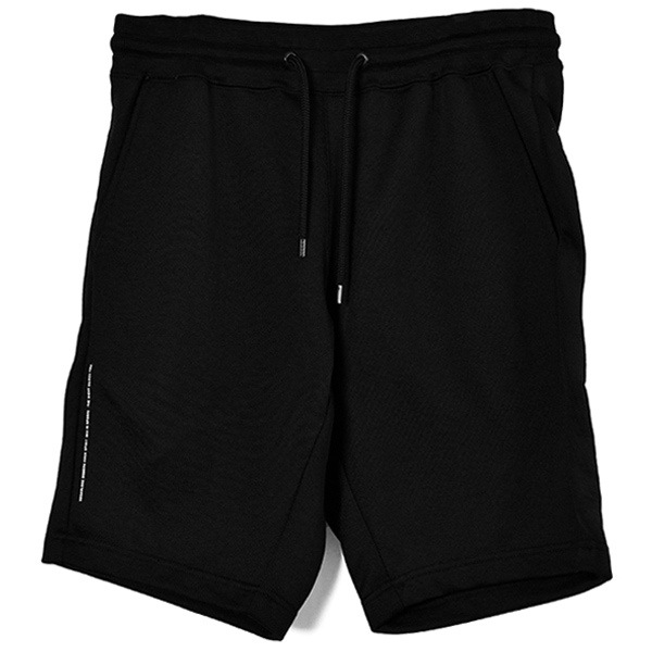 COLOR ZIP SHORT/BLACK/WHITE