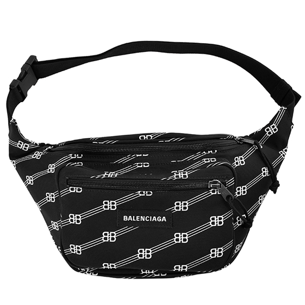 BB LOGO WEAVE WHEEL BELTPACK/BLACK